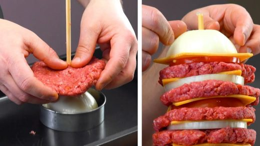 Stack 13 Patties & Wait 45 Minutes | Ultimate Food Porn