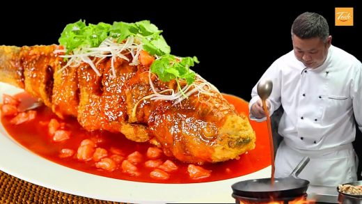 Super Tasty - Top 5 EPIC Fish Recipes by Master Chefs from China • Taste Show
