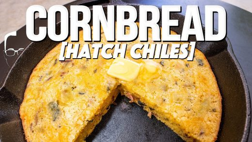 THE BEST CORNBREAD I'VE EVER MADE (WITH HATCH CHILES!)   SAM THE COOKING GUY