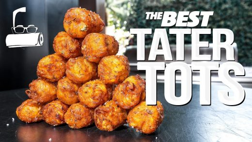 THE BEST HOMEMADE TATER TOTS (WOW!)   SAM THE COOKING GUY