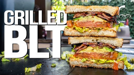 THE ULTIMATE (GRILLED!) BLT SANDWICH   SAM THE COOKING GUY