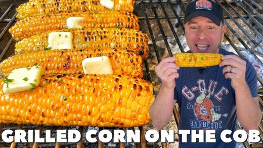 The BEST way to GRILL CORN on the COB | BBQ Butter | PK Grill (2021)