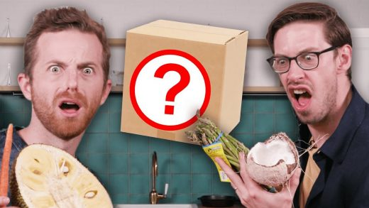 Try Guys Swap Mystery Cooking Boxes