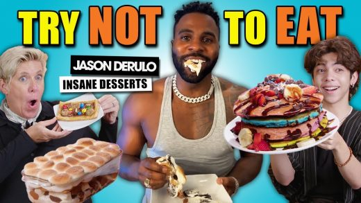 Try Not to Eat Challenge - Jason Derulo's Insane Desserts | People Vs. Food