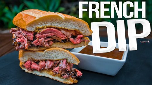 Ultimate French Dip Steak Sandwich   SAM THE COOKING GUY 4K