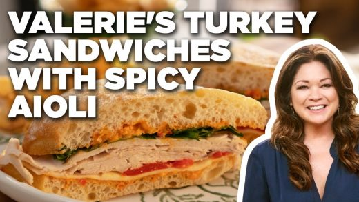 Valerie Bertinelli's Turkey Sandwiches with Spicy Aioli | Valerie's Home Cooking | Food Network
