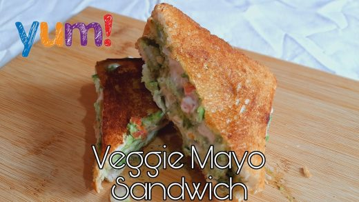 Veggie Mayonnaise Sandwiche By Cook's Creations