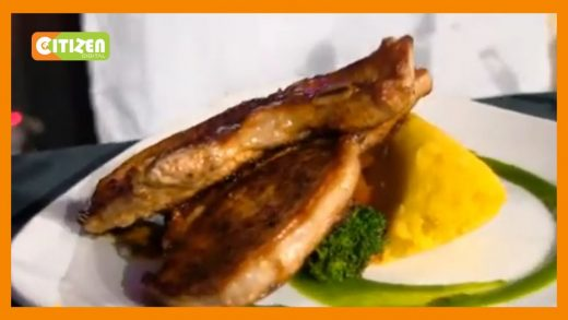 | WHAT'S COOKING | Grilled pork chops, with sweet potato mash & mixed veg