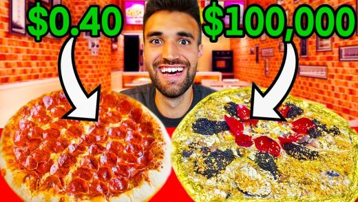 WORLD'S CHEAPEST Vs. MOST EXPENSIVE PIZZA (Breaking MrBeast's World Record)!