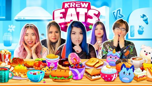 We made a game...KREW EATS! Cooking with KREW!