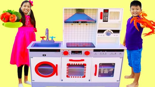 Wendy Pretend Play Cooking Toys Food Challenge for Kids