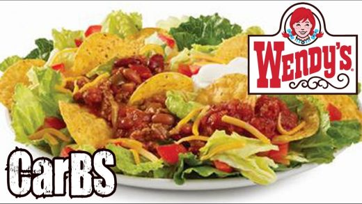 Wendy's Taco Salad Review - CarBS