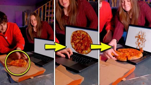 What Happens When You Copy And Paste A Pizza...