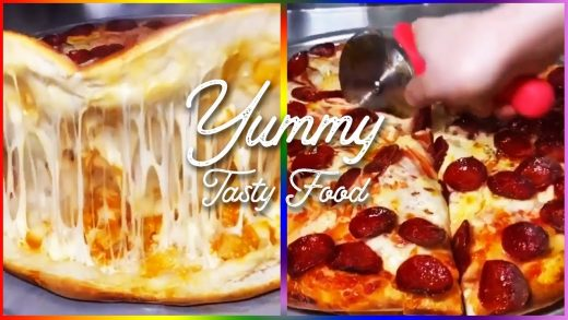Yummy Tasty Food   Cheese Pizza Recipe   Oddly Satisfying Video   Cooking Videos Street Food #shorts