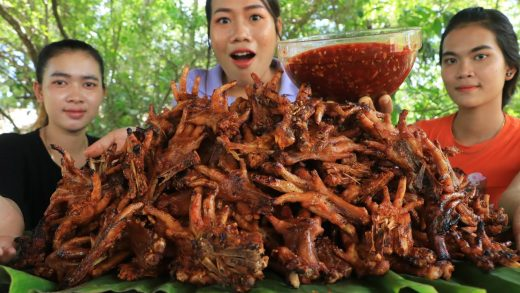 Yummy cooking chicken feet grilled with chili sauce recipe - Cooking skill