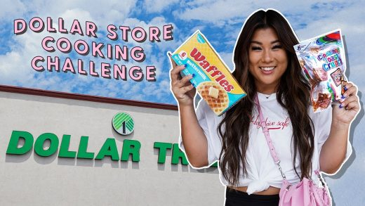 dollar store cooking challenge!!