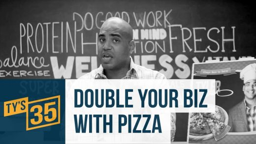 1/35: How I Doubled My Business with Pizza