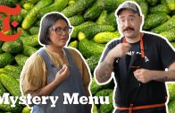 FOODporn.pl Can 2 Chefs Make Dinner And Dessert With A Pickle? | Mystery Menu With Sohla and Ham | NYT Cooking