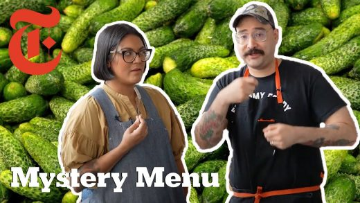 Can 2 Chefs Make Dinner And Dessert With A Pickle? | Mystery Menu With Sohla and Ham | NYT Cooking