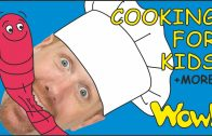 FOODporn.pl Cooking for Kids + MORE Magic Stories for Children with Steve and Maggie | Learn with Wow English TV