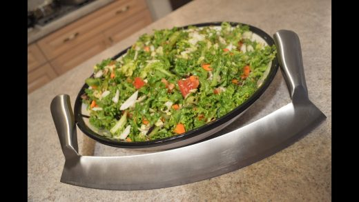 How to Make a Healthy Mixed Chopped Salad: Cooking with Kimberly