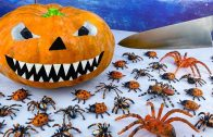 FOODporn.pl How to make Pumpkin Pizza for Halloween 2020 |Mukbang ASMR Unusual| Stop Motion Cooking Funny Videos