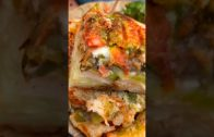 FOODporn.pl Kolkata's Most Loaded Grilled Sandwich 🤤🥪| Grilled Cheese Sandwich 😋🍱| Indian Street Food #shorts