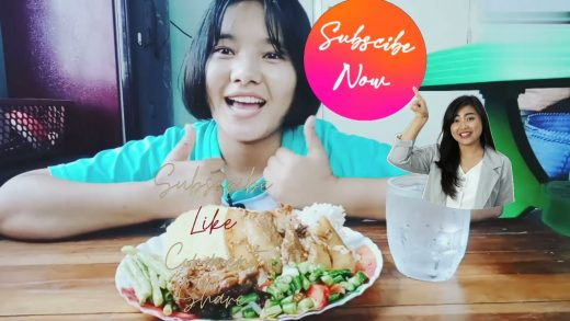 Lets Eat Pork Curry with Pineapple an Salad(vegs)#Mukbang