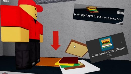 Stealing Peoples Sandwiches | Cook Sandwiches