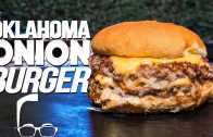 FOODporn.pl THE OKLAHOMA ONION BURGER (WOW!) | SAM THE COOKING GUY