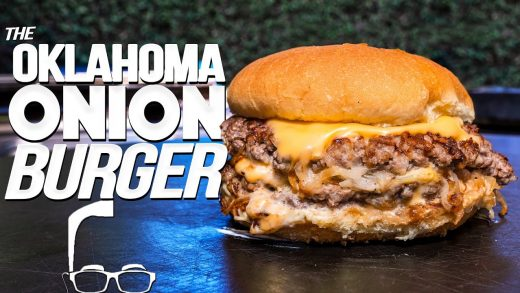 THE OKLAHOMA ONION BURGER (WOW!) | SAM THE COOKING GUY