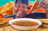 FOODporn.pl WEIGHT LOSS TALK | GRILLED CHEESE SANDWICH & TOMATO BISQUE SOUP MUKBANG