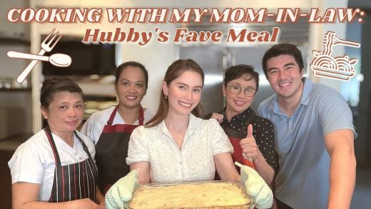 COOKING WITH MY MOM-IN-LAW: HUBBY'S FAVE MEAL | Jessy Mendiola