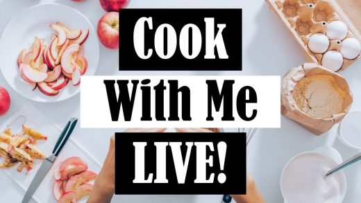 Cook with Me Live: BBQ Chicken Salads!