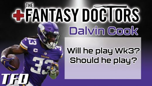 Dalvin Cook - Will he play in Week 3? Should he play?