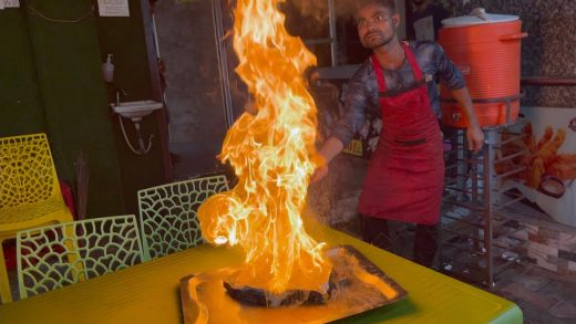 Master Chef Special Fire Sizzler   Indian Street Food