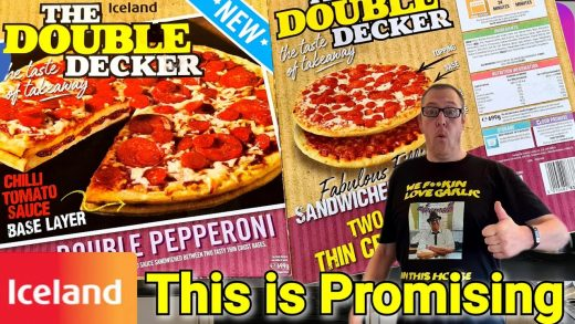 NEW | The Double Decker | Double Pepperoni Pizza From Iceland